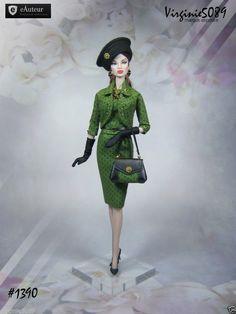 Tenue Outfit Accessoires Pour Fashion Royalty Barbie Silkstone Vintage 1390 | eBay