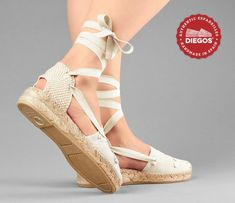 classic laces - low wedge