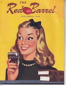 THE RED BARREL MAGAZINE SEPTEMBER, 1944 A COCA-COLA PUBLICATION