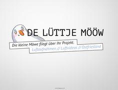 © www.designstuuv.de | Logo De Lütje Mööw,  Illustration: Katrin de Buhr