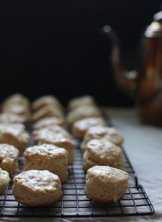 Chai Spice & Crystalized Ginger Scones by Wit & Aroma #recipe #food #photography