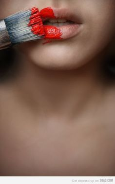 38 Ideas Makeup Ideas Photoshoot Red Lips 38 Ideen Make-up-Ideen Fotoshooting Rote Lippen Paint Photography, Creative Photography, Portrait Photography, Fashion Photography, Makeup Photography, Photography Reflector, Hipster Photography, Indoor Photography, Photography Music