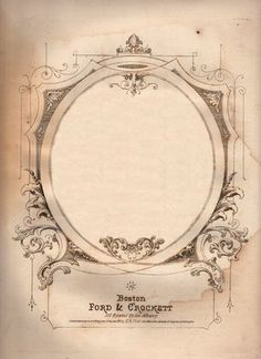 free Antique Sheet Music Graphic - Ephemera - from The Graphics Fairy