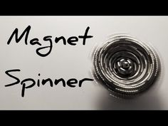 Tutorial on how to make a spinning top from zen magnets, buckyballs, neocube. Transform your magic balls into a spinner. Cool Shapes, Spinning Top, Balls, Cube, Zen, Magnets, Magic, Make It Yourself, Youtube