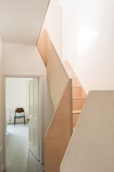 Studio Ben Allen adds pair of brick vaults to terrace house in York Terraced House, Grand Designs Magazine, Brick Extension, Brick Archway, Victorian Terrace House, Wood Railing, Railings, Small Courtyards, Building Contractors