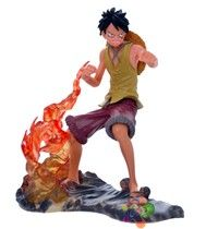 Anime Q Version One Piece Luffy PVC Figures