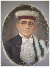 Sem Título, 1951. Óleo sobre tela, 59 x 64 cm. Autora: Antonieta Santos Feio.