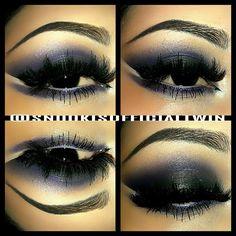 Smokey eyes #purple  - @snookisofficialtwin