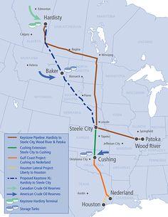 #ABasedeSoja: Keystone XL Pipeline