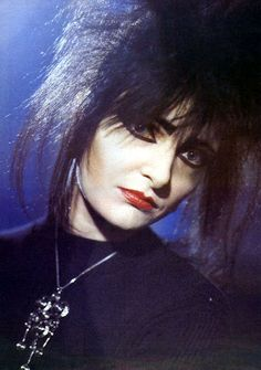 Siouxsie Sioux - the inspiration for hundreds of hours of make up applications in the 1980s...