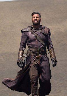 Manu Bennett is Allanon in MTV's 'The Shannara Chronicles'...coming soon...