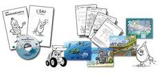 Bookinalex: Kits pédagogiques gratuits sur l'environnement marin