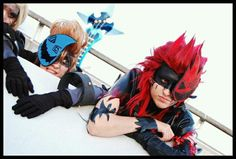 Demyx and Axel