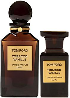 Tobacco Vanille  Eau de Parfum by  TOM FORD Private Blend (tobacco, tonka bean, vanilla, cocoa, dry fruit accord and sweet wood sap)