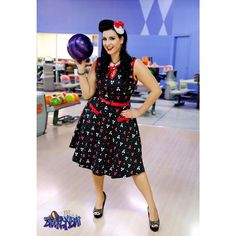 "36 Likes, 3 Comments - Buttercream Bettie (@buttercreambettie) on Instagram: ""Pinup bowling! #party #pinup #pinups #purple #pinupgirl #pinuphair #pinupmodel #pinupfashion #dress…"""