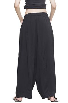 OUTLINE Women's Original Brand Solid Long Palazzo Pants With Side Pockets -- Check out this great product. (This is an affiliate link) #PalazzoPants