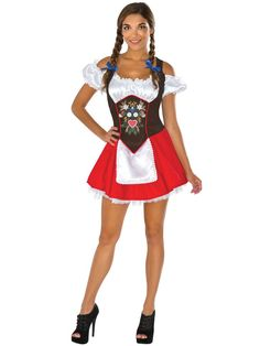 Check out Beer Garden Babe Womens Costume - Sexy Beer Girl Costumes from Costume…