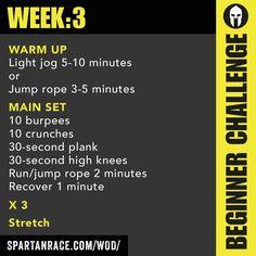 Spartan Beginner Challenge 1.3 - SPARTAN RACE™ Blog