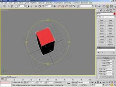 3DsMax5   03강 탭페널의 구성과 메인툴바 사용방법 1