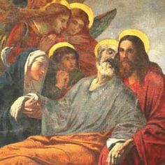 Pray this novena to St. Joseph, patron of a happy death, asking him to obtain special virtues and graces. St Joseph Novena, Jesus Mary And Joseph, Saint Joseph, Joseph Joseph, Jesus And Mary Pictures, Novena Prayers, Biblical Art, Holy Family, The Kingdom Of God