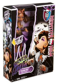 Monster High Ghoul's Alive Clawdeen Wolf Doll