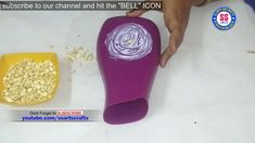 Best Out Of Waste Amazing Flower Vase Out Of Surf Excel Bottle Diy Re Diy Vase Recycled Crafts Best Out Of Waste