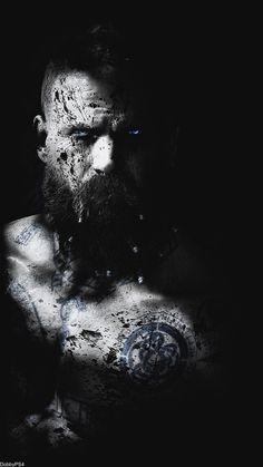 Baldur The Stranger Kratos God Of War, War Tattoo, Nordic Vikings, God Tattoos, Dslr Background Images, Loki Marvel, Anime, Landscape Art, Dark Art