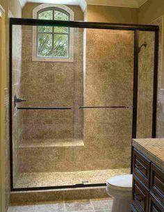 clear glass shower doors