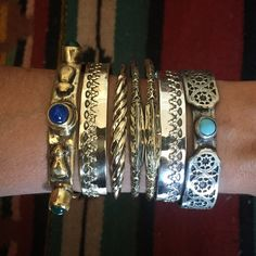 #cuffs #bling on the #shop ! #handmadejewelry #jewelry #jewellery #jewels #bracelets #silver #gold #etsy #armcandy #armparty #bangles #boho #bohemian #bling #statement #turqoise #metalsmith #silversmith