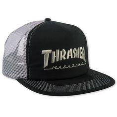 Embroidered Thrasher Logo Mesh Cap Thrasher Magazine 2706d2d09e6c