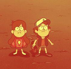 GRAVITY FALLS Dipper y Mabel ⭐️❣️