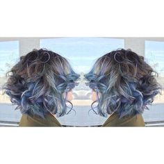"""J Beverly Hills Colour ~ When """"Singing the Blues"""" is the best kind of news  @little_lele_scissorhands has nailed this look and we LVE. Amazing cut/colour/style by one of the best! #jbeverlyhills #hair #instahair #style #stylist #fashion #beauty #radhair #bluehair"""