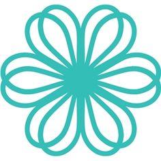 Silhouette Design Store - View Design #23931: floral filigree
