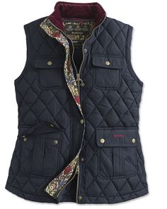 Just found this Barbour Down-Filled Microfibre Vest For Women - Barbour%26%23174%3b Craft Gilet -- Orvis on Orvis.com!