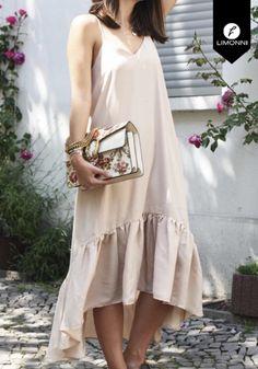 Comprar - Vestidos para mujer Limonni Claudette LI2693 Maxidress Flare Pants, Hippie Style, Casual Looks, Kurti, Pattern Design, Need Supply, Victoria, Couture, Boutique