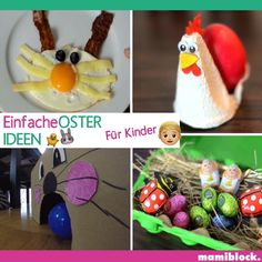7 quick ideas Easter with children - You can see super simple and quickly made upcycling ideas, crafting tips, mom hacks and decorating - Mom Hacks, Hacks Diy, Baby Development, Dollar Store Crafts, Diy Videos, Handicraft, Upcycle, Diy Projects, Barn