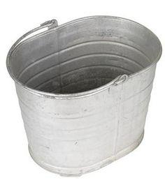 DIY   Galvanized tubs make sturdy, long-lasting garden planters.