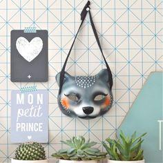 masque Ours Omm design - deco-graphic.com