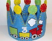 train party party crown