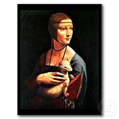Postcard-Classic/Vintage-Leonardo da Vinci 12