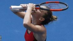 Simona Halep saved two match points on the Kerber serve at 6-5 in the final set  2018 Australian Open  Dates: 15-28 January Venue: Melbourne Park  Coverage:  Watch highlights on BBC Two the BBC Sport website and app. Live  commentary on the best matches on BBC Radio 5 live 5 live sports extra  and online.  World  number one Simona Halep saw off 2016 champion Angelique Kerber in a  thrilling contest to reach her first Australian Open final.  The Romanian twice a French Open runner-up saved…