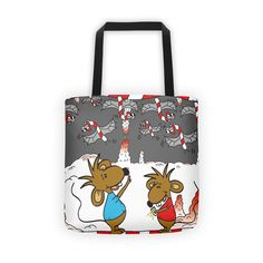 Stincel And Ringlet Candy Candy Cave Novelty Tote Bag | The Iced Sugar Cookie