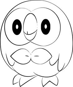 Pokemon Rowlet