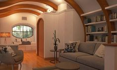 Net-zero Arc House shows how arches make tiny spaces feel bigger | Inhabitat - Green Design, Innovation, Architecture, Green Building