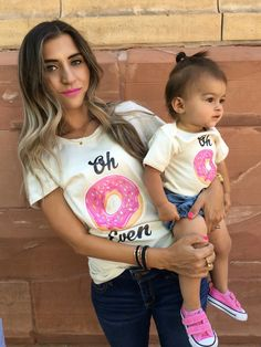 Oh Donut Even, Oh Don't Even, Mama & Baby Matching Set, Tee, T-Shirt, TShirt, Organic, Onesie®, One Piece, Bodysuit, Layette