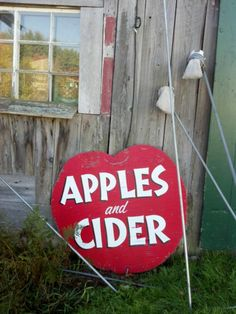 Orchard sign in Lebanon, NH
