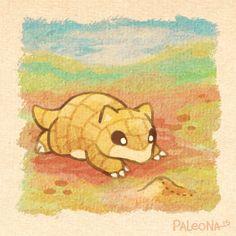 sandshrew by Paleona