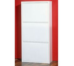 Igma Mirrored Rotating Shoe Storage Cabinet See More 3 Tiered White 5206 84