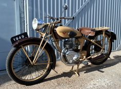 1949-MOTOBECANE-D45-125-4-STROKE-EXCELLENT-RUNNER-CLASSIC-VINTAGE