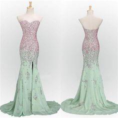 Mint Prom Dresses,Long Prom Dresses, Mermaid Prom Dresses,Sweetheart Prom Dresses, Sparkle Prom Dresses, Popular Prom Dresses,Custom Prom Dresses,Prom Dresses Online,PD0113